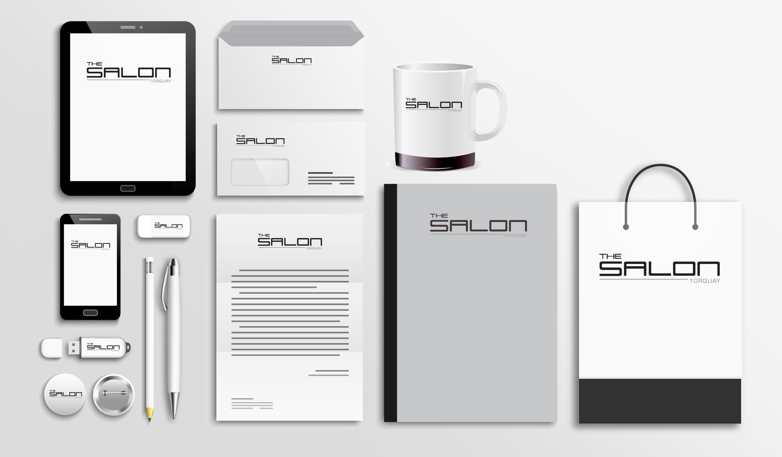 The Salon Stationery Six Degrees Marketing